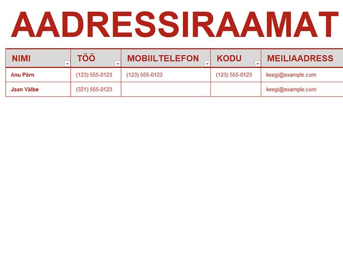 Era-aadressiraamat
