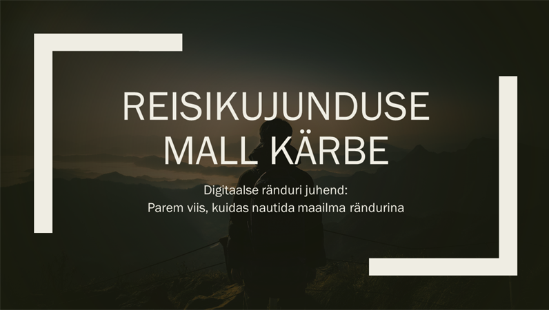 Reisikujundus Kärbi