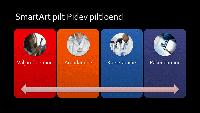 SmartArti pidev piltloend (mitmevärviline mustal taustal), laiekraan