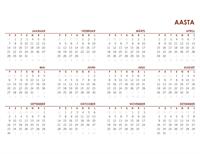 Globaalne aastakalender