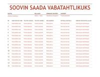Vabatahtlikuks registreerumise leht