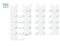 Juliuse kalender