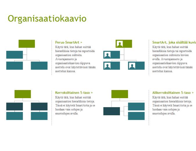 Organisaatiokaaviot (visuaalinen)