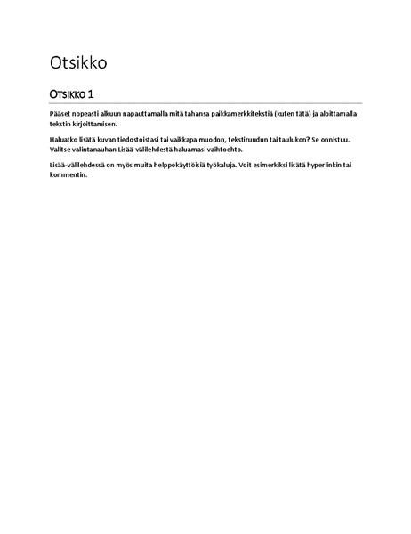 Raportti-malli (tyhjä)