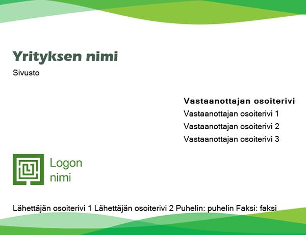 Kirjekuori (vihreä aalto)