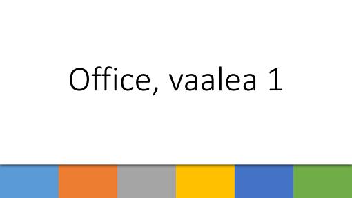 Office, vaalea 1