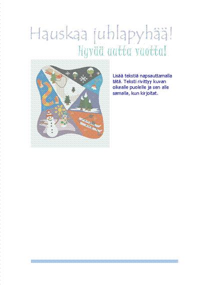 Kirjepohja (talviurheiluaiheinen)