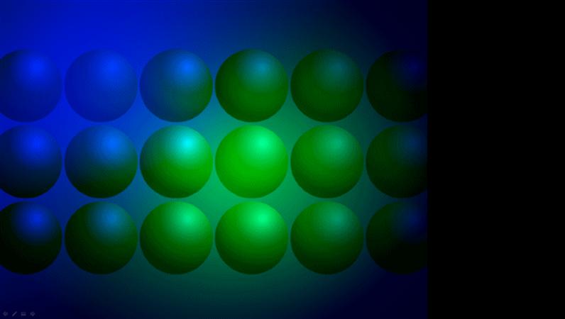 Sinisiä ja vihreitä palloja -suunnittelumalli