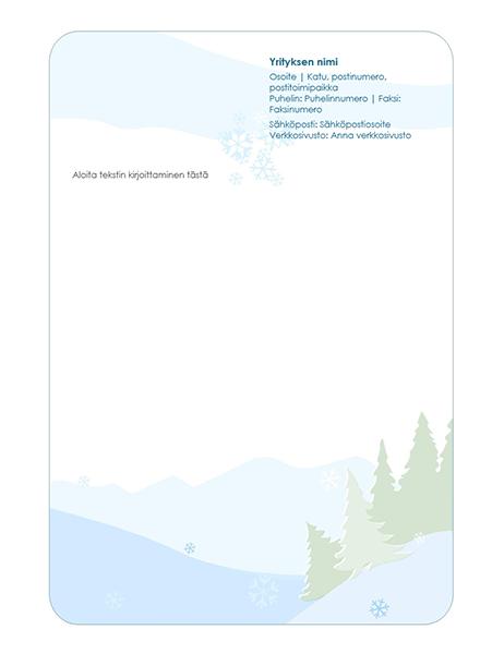 Talvinen kirjepohja, osoitetiedot