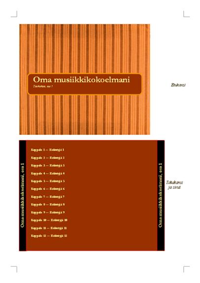 CD-levyn kansi