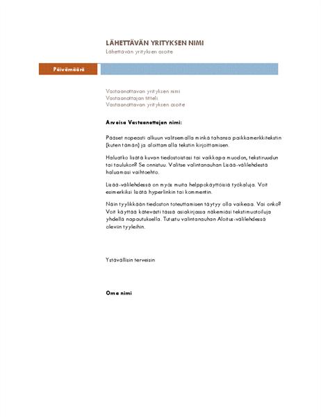 Yrityskirje (Mediaani-teema)
