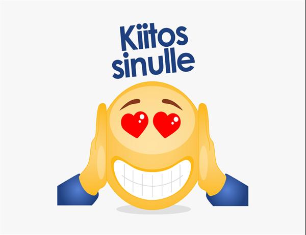 Kiitoskortti (emoji)
