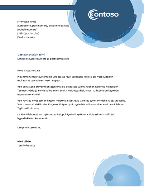 Kirjelomake (siniset pallot)