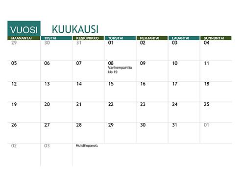 Lukuvuosikalenteri