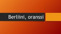 Berliinin oranssi