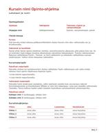 Muistio (Luonnos-vesileima) - Office Templates
