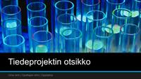 Tiedeprojektin esitys (laajakuva)