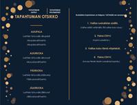 Tyylikäs menu