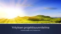 Yrityksen projektisuunnitelman esittely (laajakuva)
