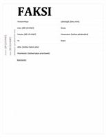 Faksin kansilehti (Koulutus)