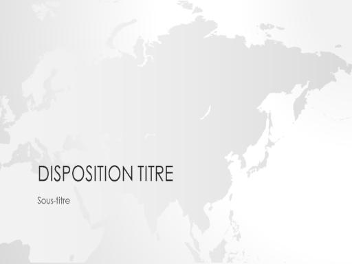 Présentation de la série Cartes du monde, Asie (grand écran)