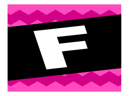 Bannière de félicitations- motif graphique