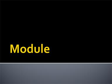 Module