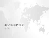 Présentation Carte du monde, Série Carte du monde (grand écran)