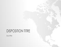 Présentation de la série Cartes du monde, Amérique du Nord (grand écran)