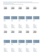 Cartes de visite (conception Intemporel)