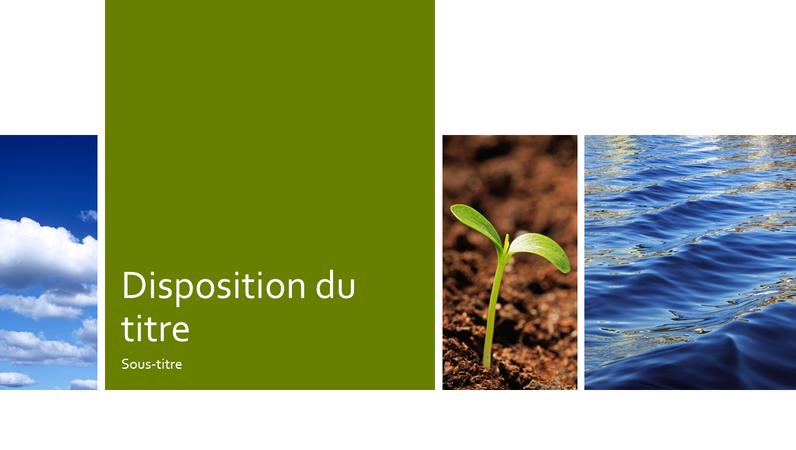 Nature ecology education photo presentation