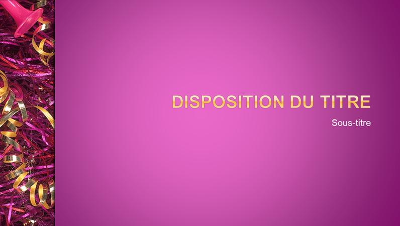 Celebration design slides presentation