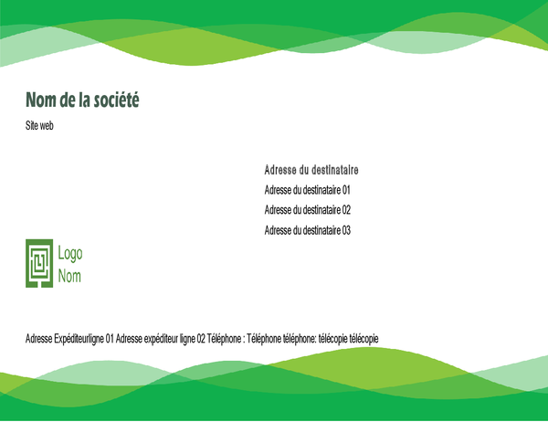 Envelope (Green Wave design)