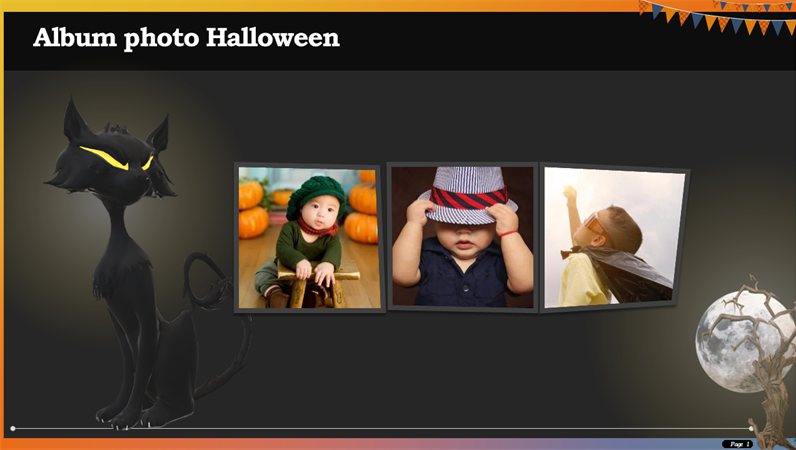 Album photo Halloween