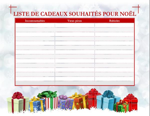 Liste d\u0027idées cadeaux de Noël (pour adulte)