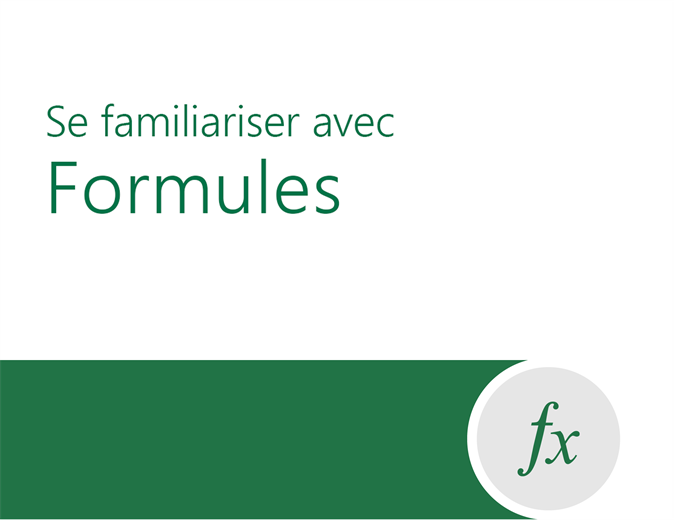 Formula tutorial