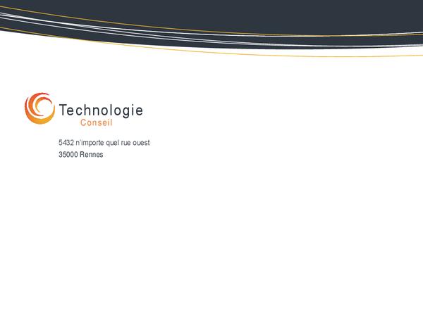 Technology business envelope