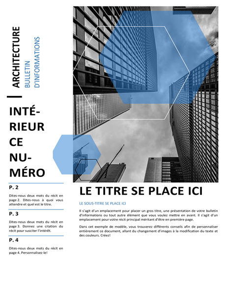 Bulletin d'informations d'architecture