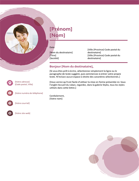 Rose suite cover letter