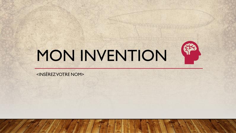 My invention presentation