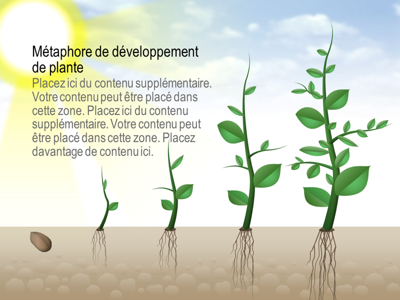 Plant growth graphic