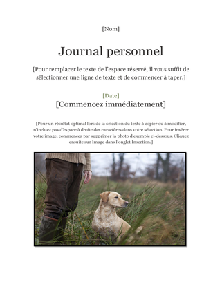 Journal personnel