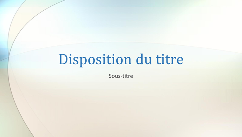 Diapositives de conception Cloud skipper