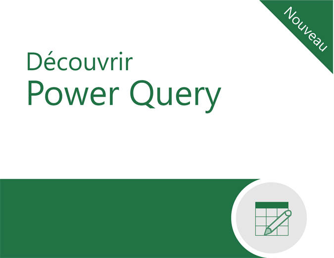 Tutoriel Power Query