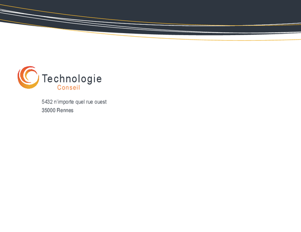 Enveloppe pour entreprise technologique