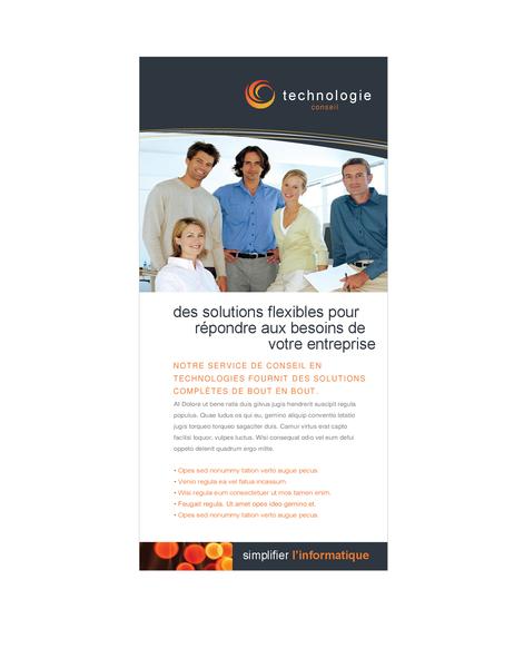 Cartes pour entreprise technologique
