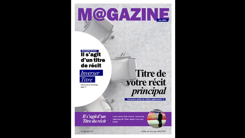 Couvertures de magazines sociaux