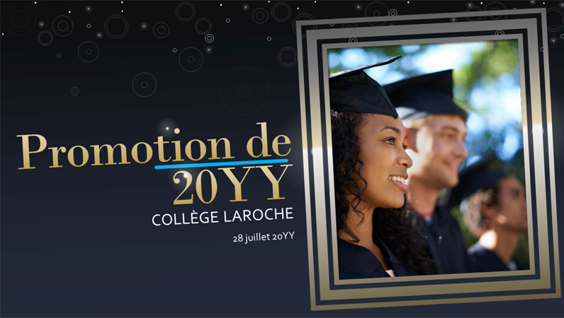 Moments forts de la vie - Obtention de diplôme