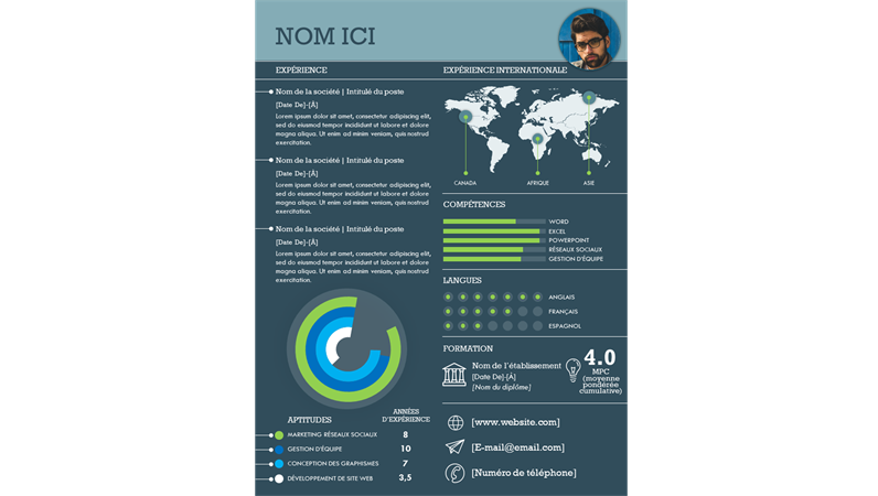 C.V. infographie international