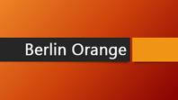 Berlin Orange